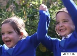 Formerly Conjoined Twins Defy Odds And Head Off To School