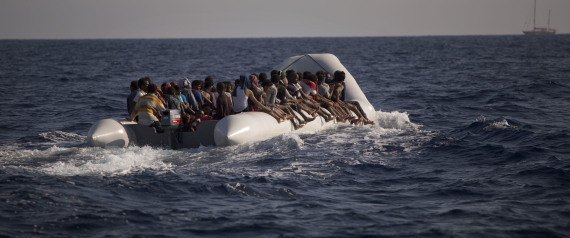 REFUGEES AT SEA
