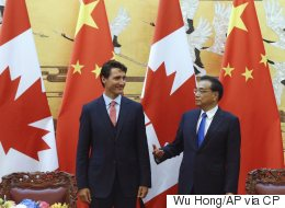 Trudeau Opens Canada's Door Wider To China