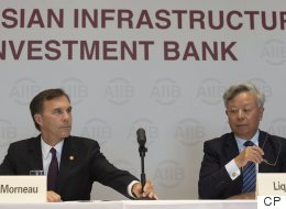 Canada Intends To Join Controversial China-Led Infrastructure Bank