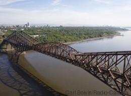 Un plan sur 10 ans proposé pour repeindre le pont de Québec