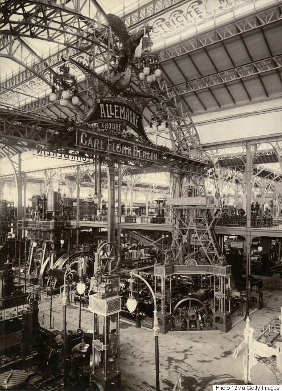 paris worlds fair 1900 machine