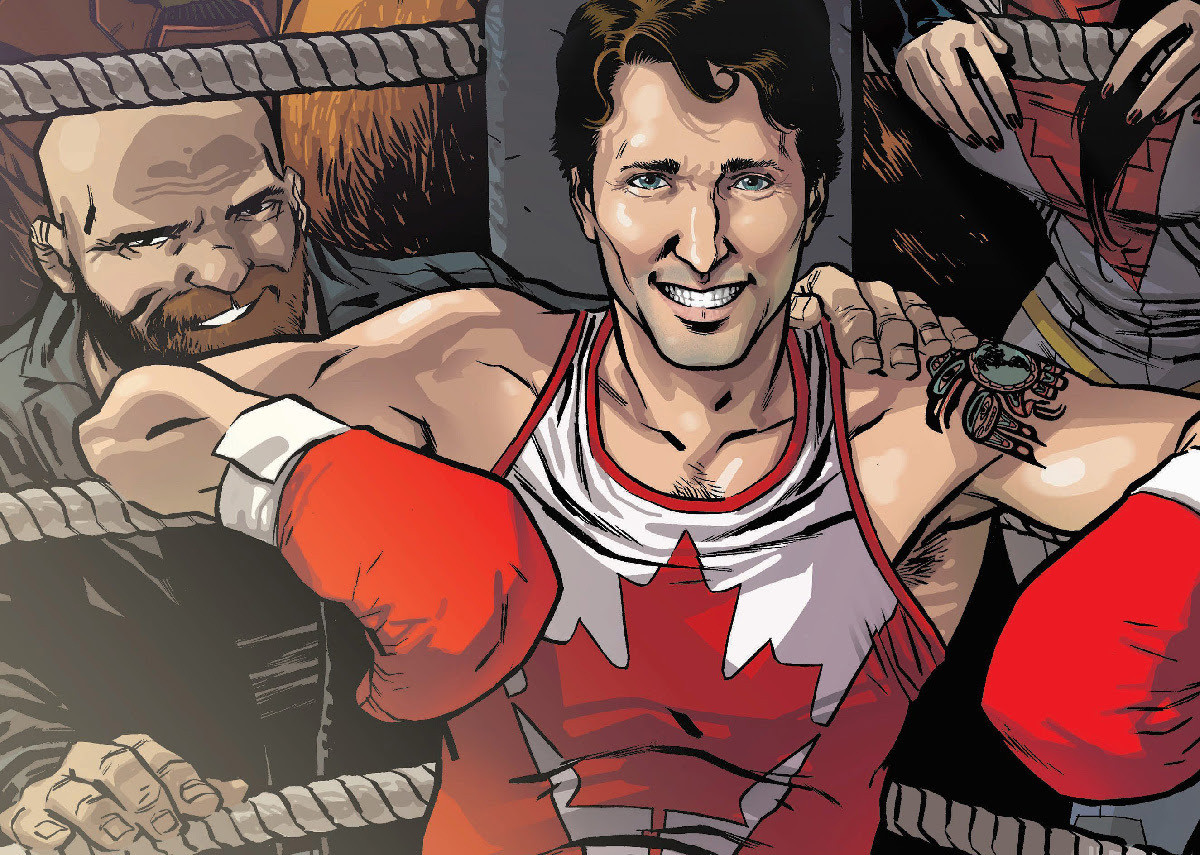 view download images  Images Justin Trudeau Is Taking His Boxing Gloves To The Marvel Universe | HuffPost