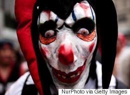 Deux adolescents déguisés en clowns avertis par la police à Winnipeg