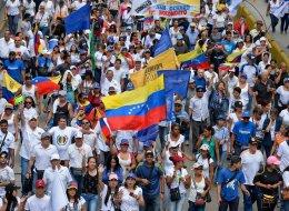 La 'gran toma de Caracas' (FOTOS)