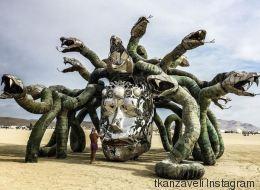 Les installations les plus spectaculaires du Burning Man