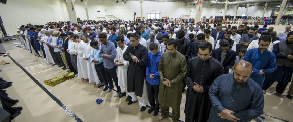 EID PRAYER IN AMERICA