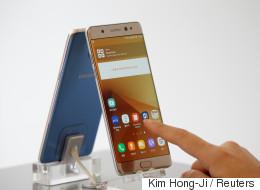 Samsung suspend les ventes du Galaxy Note 7... parce que des batteries explosent! (VIDÉO)