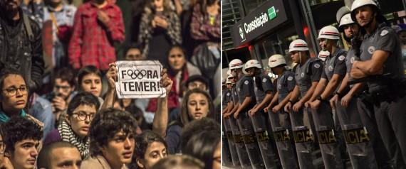 PROTESTS SAO PAULO