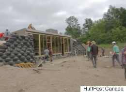 WATCH: 1st Earthship Built On First Nations Soil