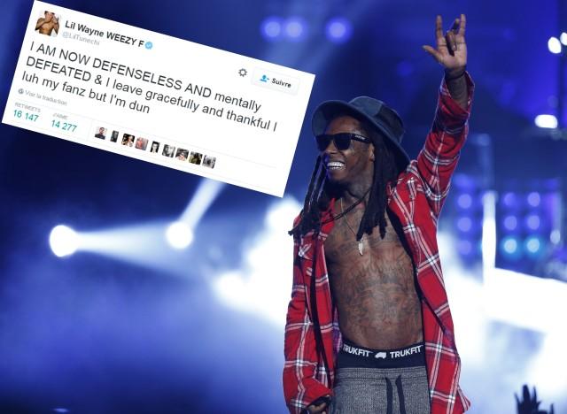 Lil Wayne : J'adore mes fans mais c'est fini pour moi