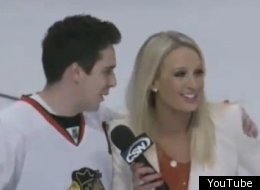 Sarah Kustok Blackhawks Fan