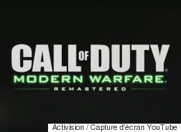 Une nouvelle bande-annonce pour Call of Duty: Modern Warfare Remastered