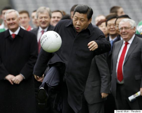 xi jinping soccer