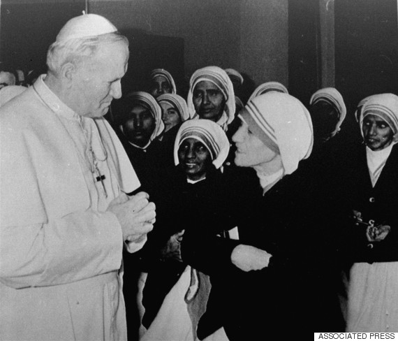 mother teresa vatican john paul