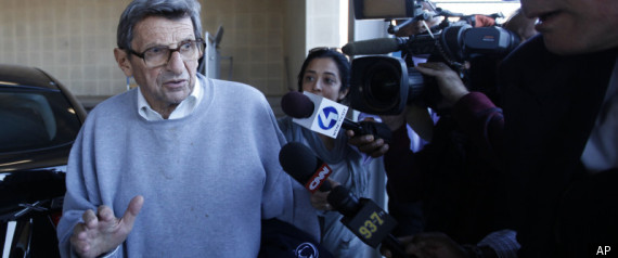 Joe Paterno Speaks Wapo