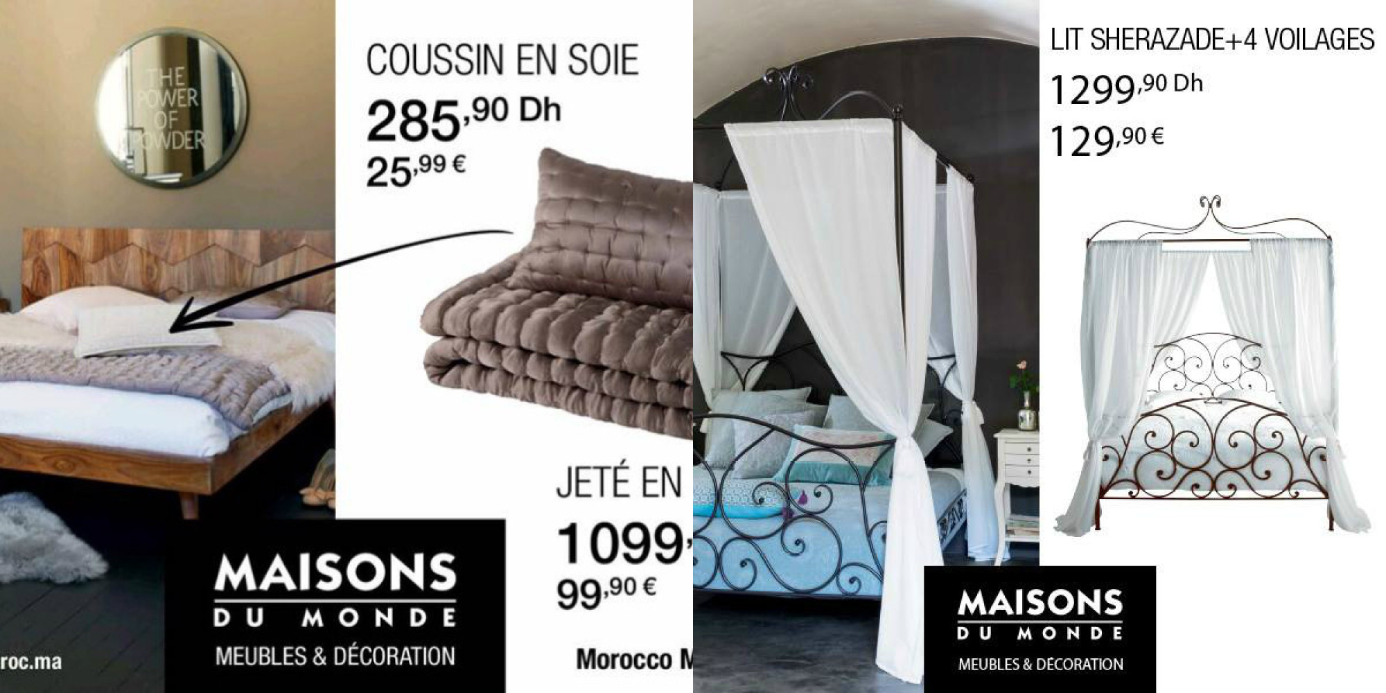 magasin style maison du monde decoration deco maison mer. Black Bedroom Furniture Sets. Home Design Ideas