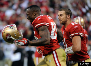 Vernon Davis Crying 49ers Saints