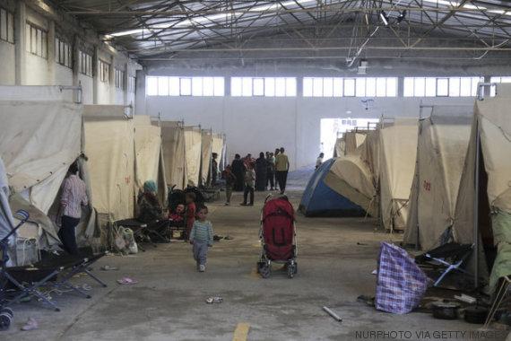campo de refugiados de vasilika