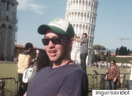 피사의 사탑에서 관광사진을 찍는 새로운 방법(사진)
