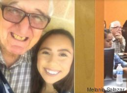 Elle est rentrée à l'université en même temps que son grand-père