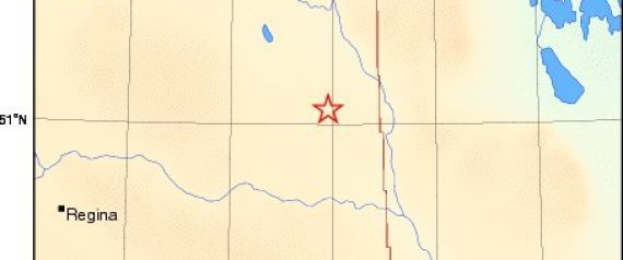 YORKTON SASKATCHEWAN EARTHQUAKE