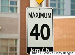 La vitesse sera réduite à 40 km/h sur le Plateau et dans Rosemont