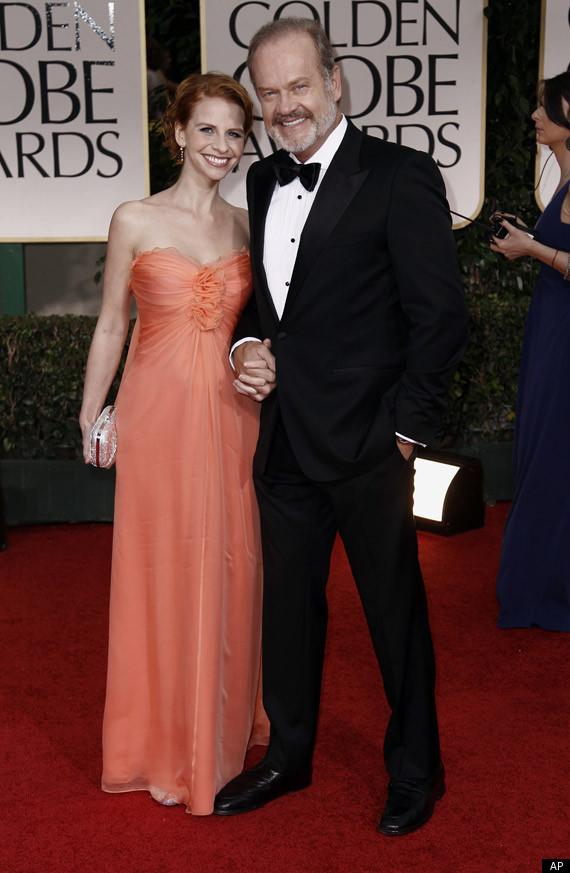Golden Globes 2012 Kelsey Grammer Pregnant Kayte Walsh