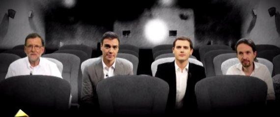 POLITICOS HORMIGUERO CINE