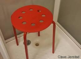 Ikea a répondu à cet homme qui s'est coincé un testicule dans ce tabouret (VIDÉO)