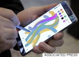 Rappel massif de téléphones Galaxy Note7
