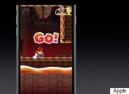 Super Mario débarque sur l'iPhone