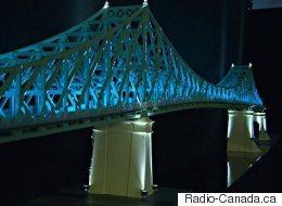 Le pont Jacques-Cartier s'illuminera pour le 375e de Montréal (VIDÉO)