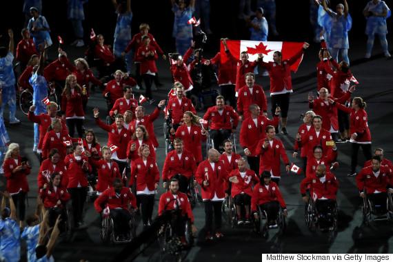 paralympics canada