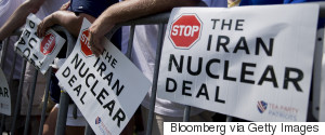 IRAN DEAL PROTEST