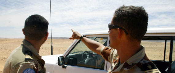 MOROCCAN SECURITY IN WESTERN SAHARA