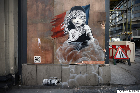 banksy miserables