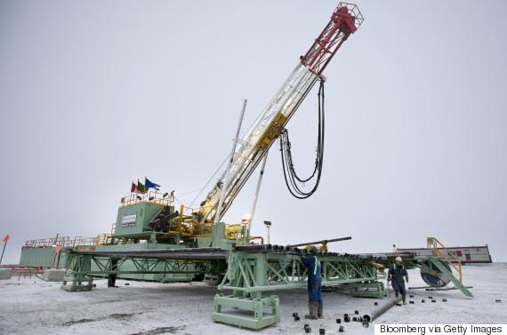 alberta oil drilling