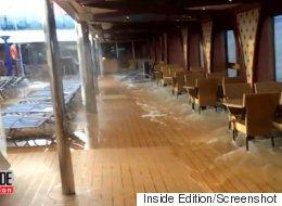 Cruise Ship Passengers Panic As Boat Tilts Several Degrees
