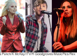 'The Big Three': New Music From Lady Gaga, James Arthur And Melanie C