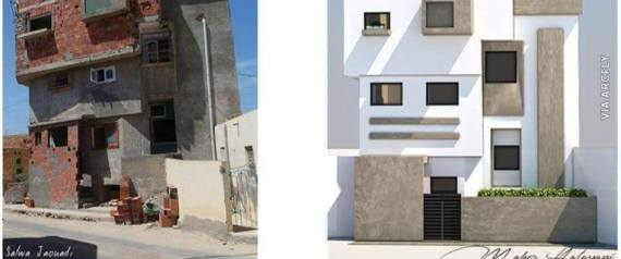 Une construction tunisienne sur une page am ricaine d for Architecture tunisienne maison