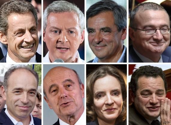 primaire huit candidats