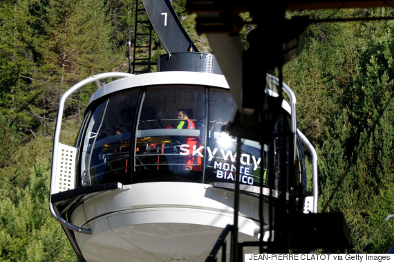 cable cars alps