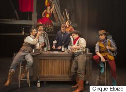 «Saloon» du Cirque Éloize: la fête au village!