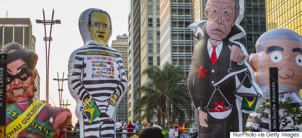 Weekend Roundup: China's Slump Tests Brazil's Democracy