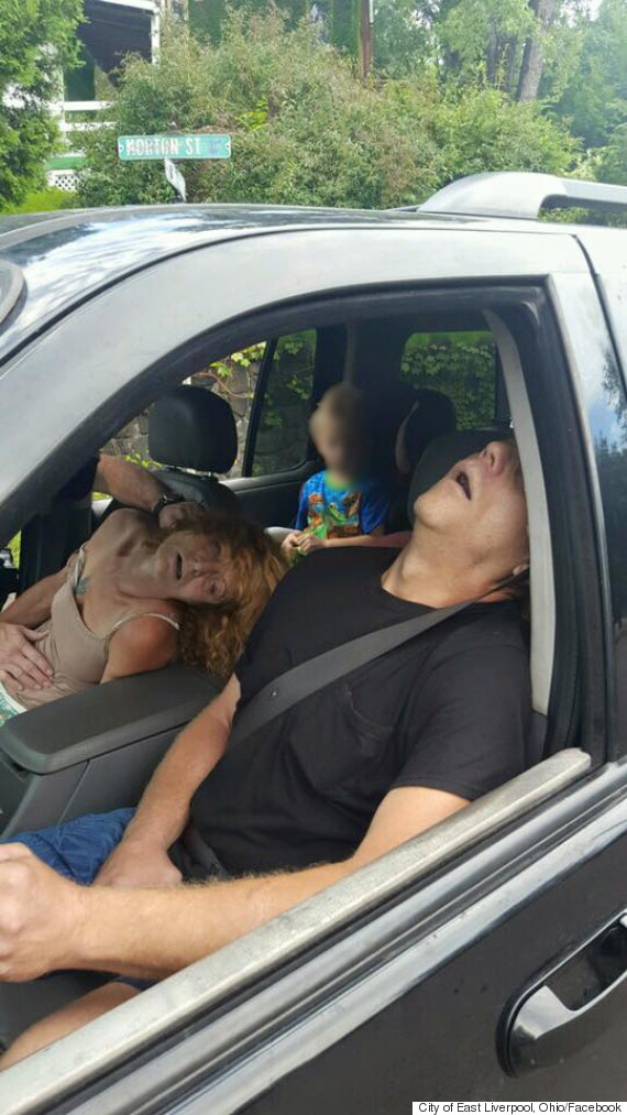 ohio police heroin blur