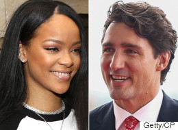 Rihanna Wants Trudeau To Get To Work, Work, Work On Foreign Aid