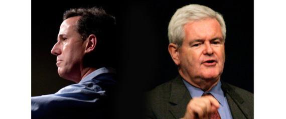 Santorum Gingrich