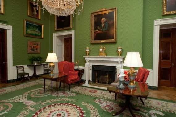 white house rooms