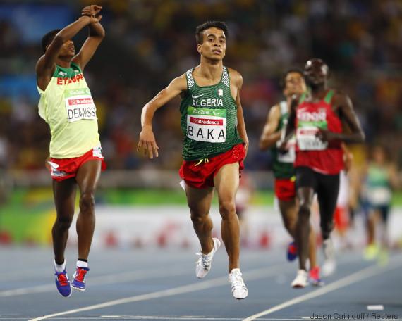 JP 2016 – Athlétisme (1500m) : Abdellatif Baka bat le record du monde et réalise un chronos mieux que celui enregistré dans le Jeux Olympiques